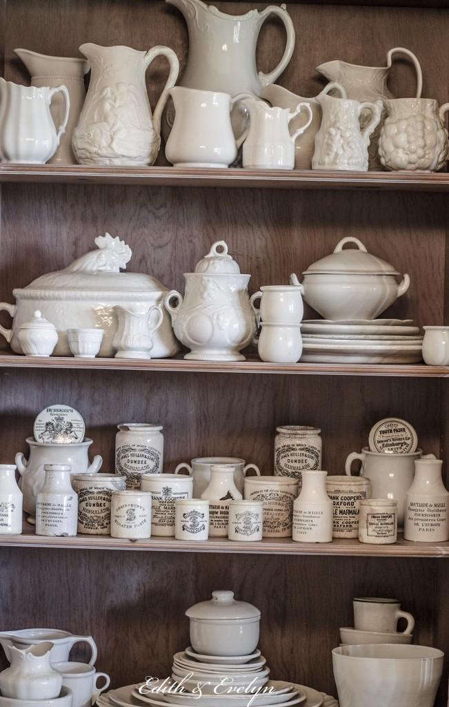 Ironstone Marmalade Jars And Mustard Pots Cedar Hill