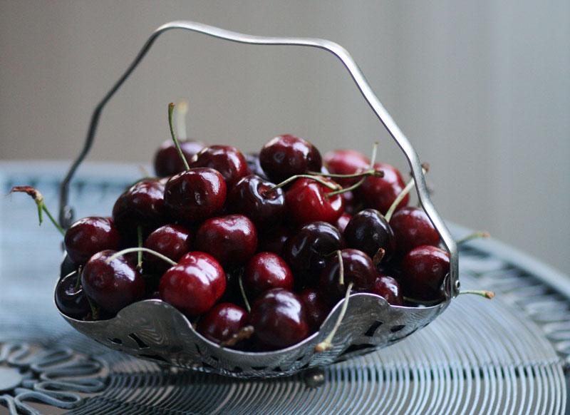 cherries-in-silver-basket