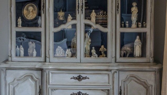 French Cabinet Before and After