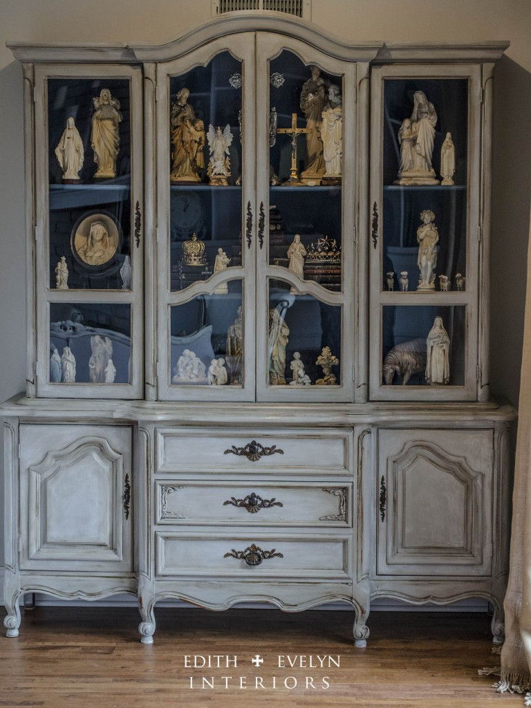 French Cabinet Before And After Cedar Hill Farmhouse