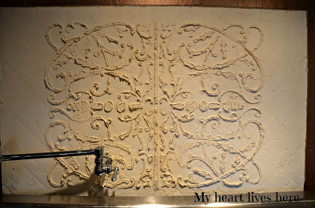 plaster backsplash 3