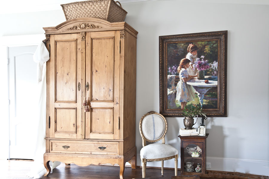 pine-armoire