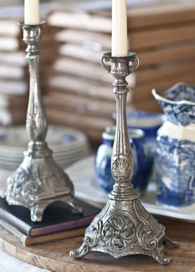 candlesticks-silver