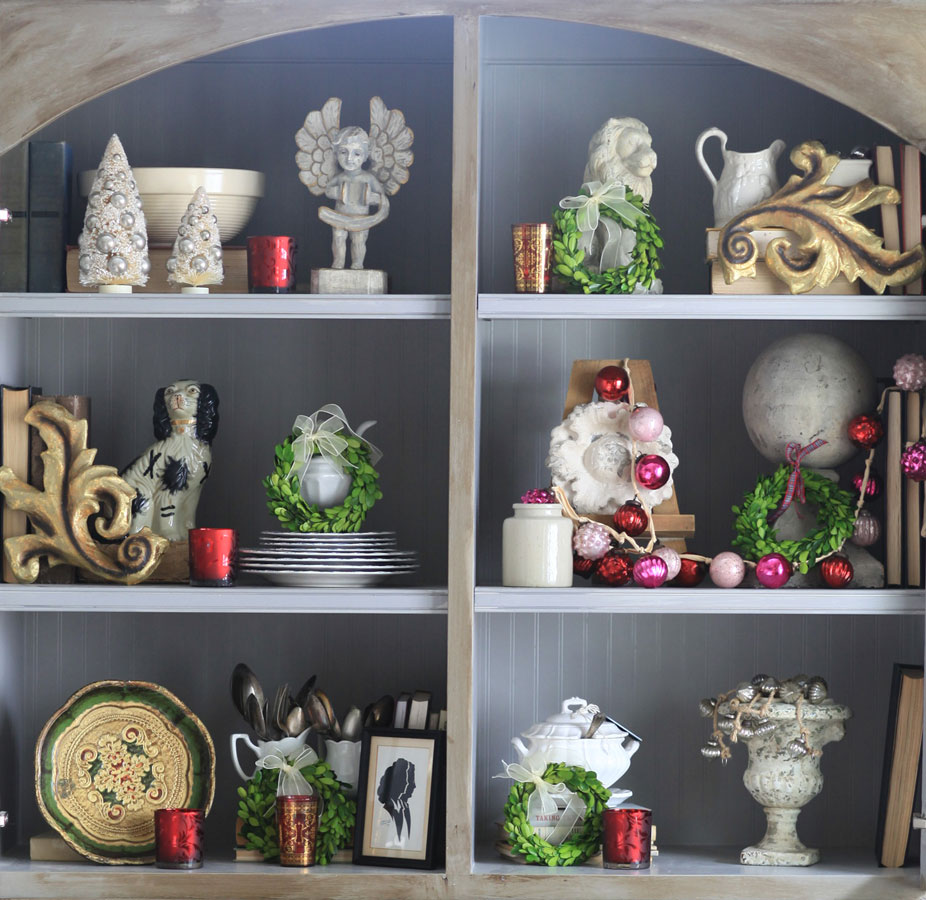 christmas-in-a-cabinet