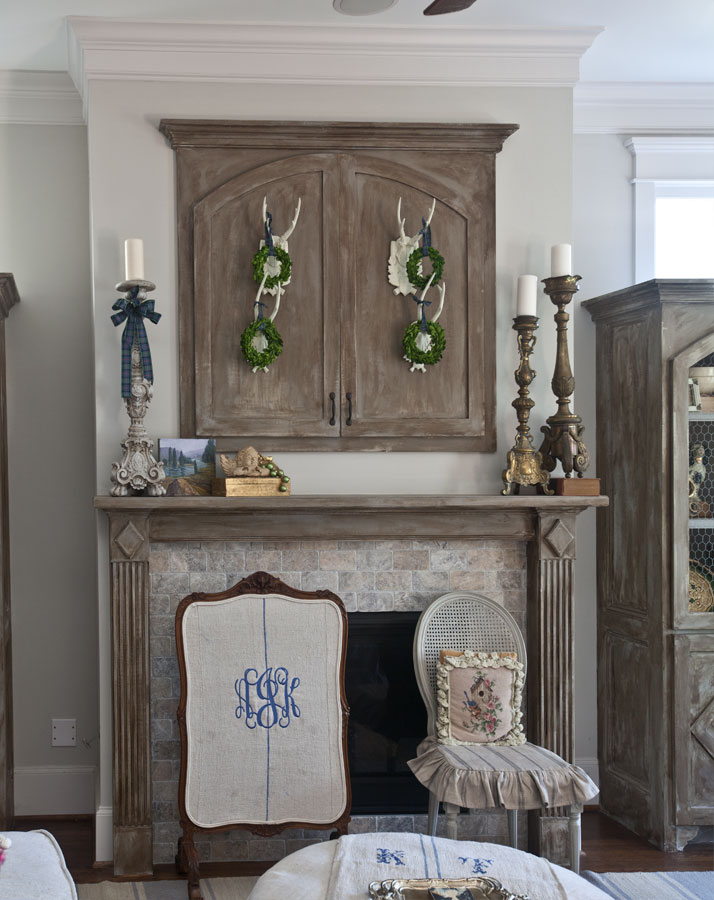 tartan-fireplace