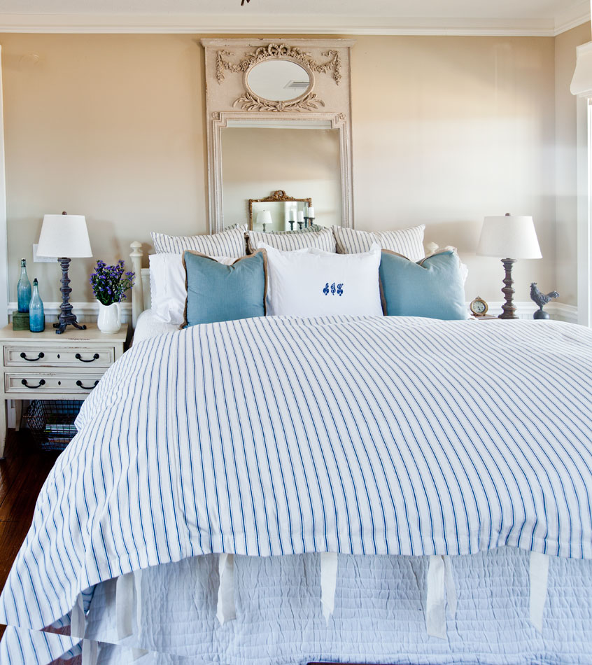 french-ticking-bed