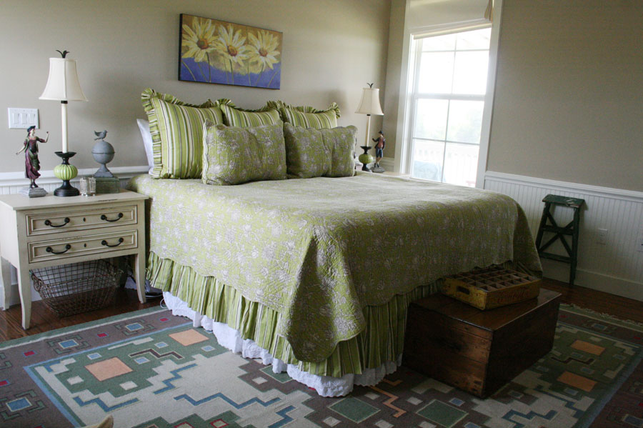 green-bed