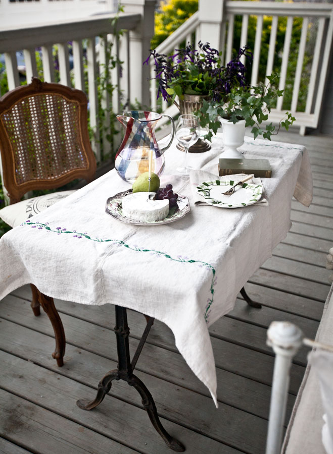 table-on-porch