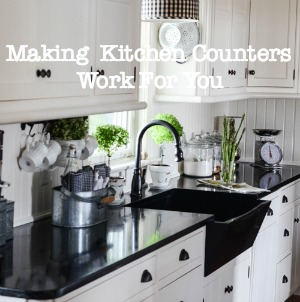 MAKING YOUR KITCHEN COUNTERS WORK FOR YOU-button 1-stonegableblog