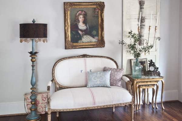 french-settee