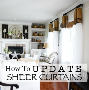 UPDATED SHEER CURTAINS DIY-button-stonegableblog.com