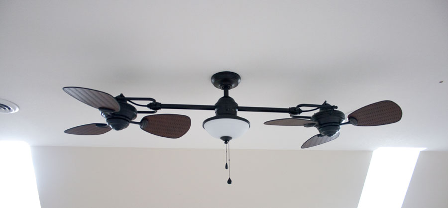 double-ceiling-fan