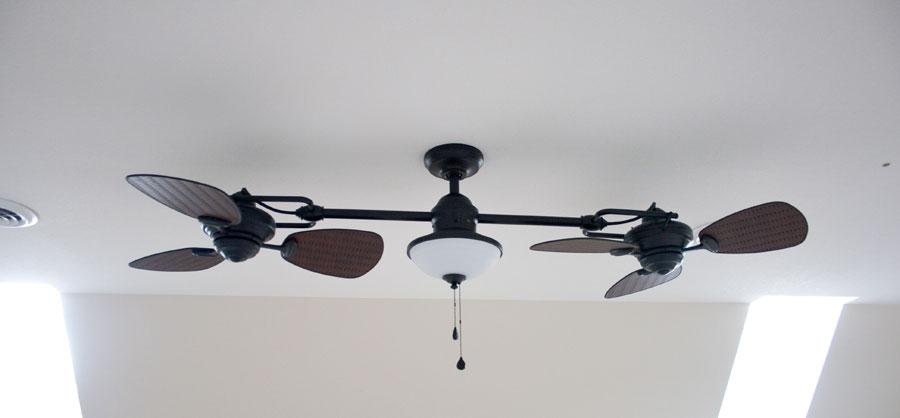 double-ceiling-fan