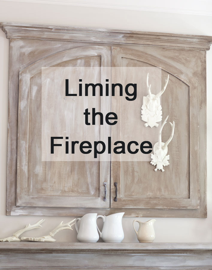 liming the fireplace