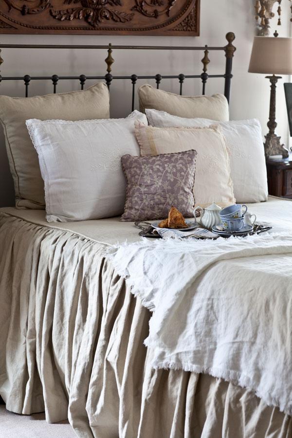 linen blanket