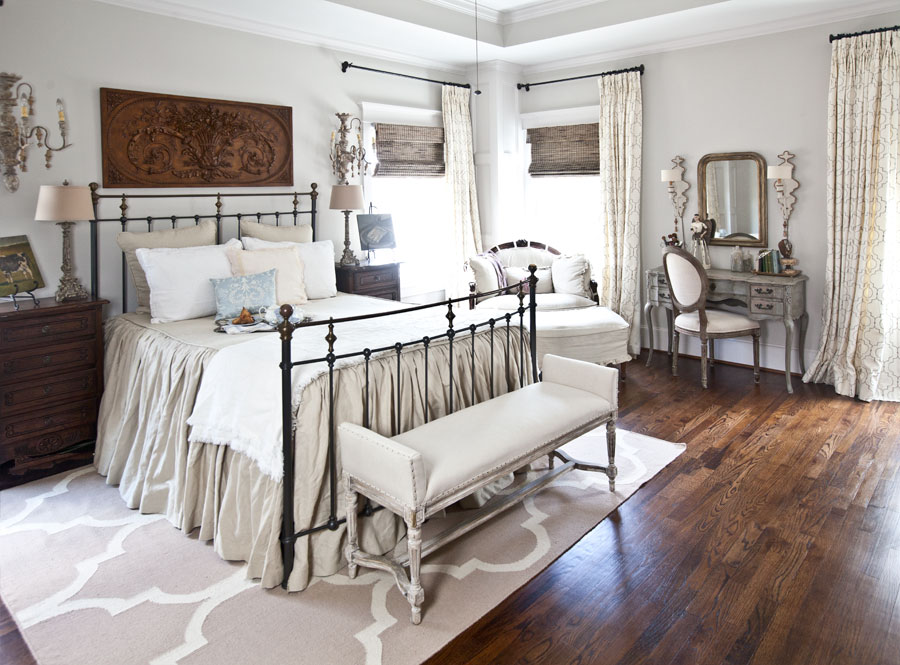 French bedroomGet the Look Cedar Hill Farmhouse   Bedroom   Cedar Hill Farmhouse. Farmhouse Bedroom. Home Design Ideas