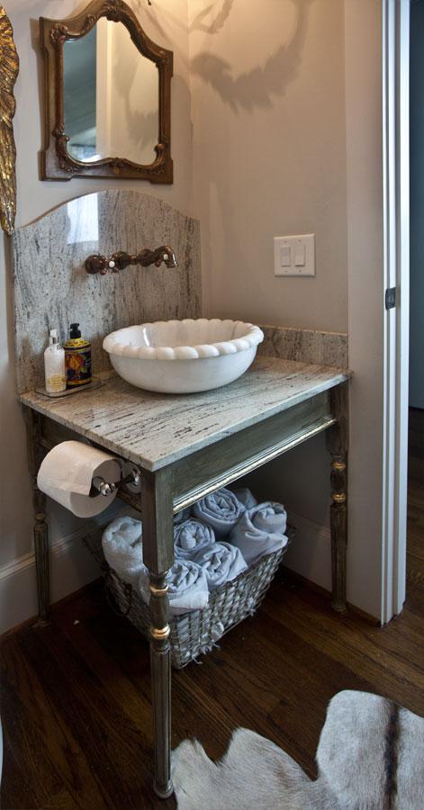 marble-sink