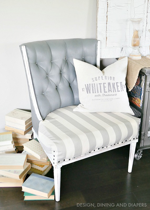 PAINTED-UPHOLSTERY-CHAIR