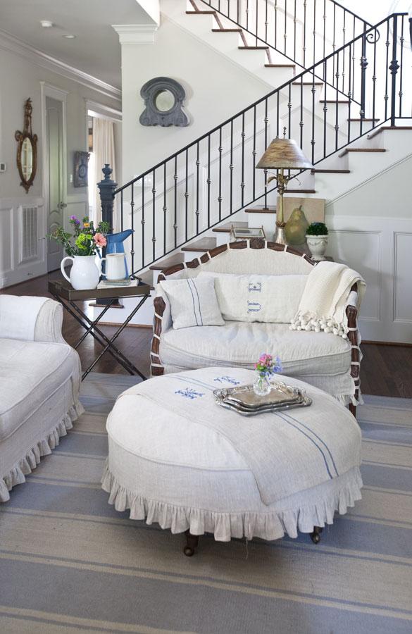linen-chair