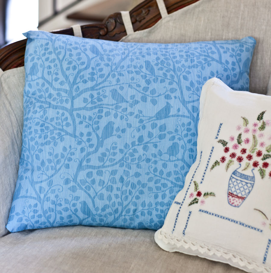 plain-blue-pillow
