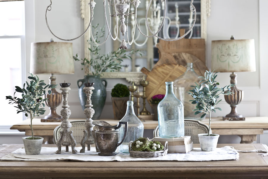 shopping for farmhouse french style - French Style Christmas Decorations