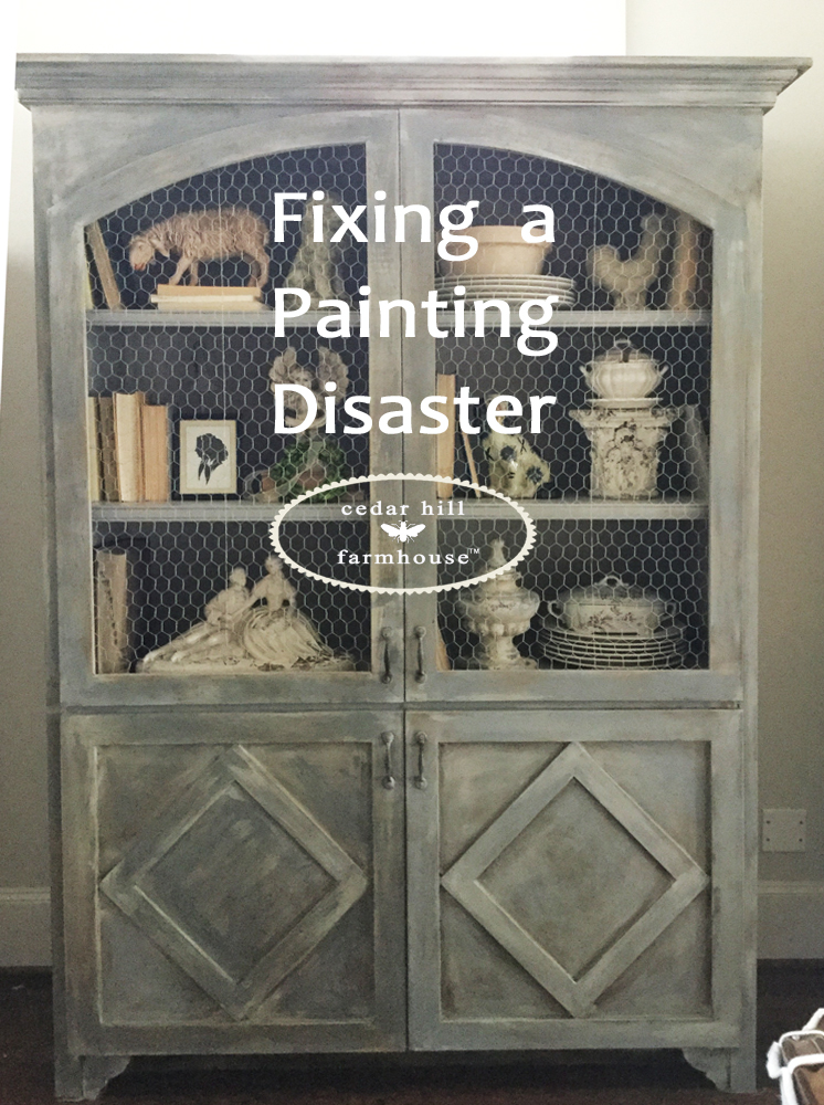 Fixing A Painting Disaster