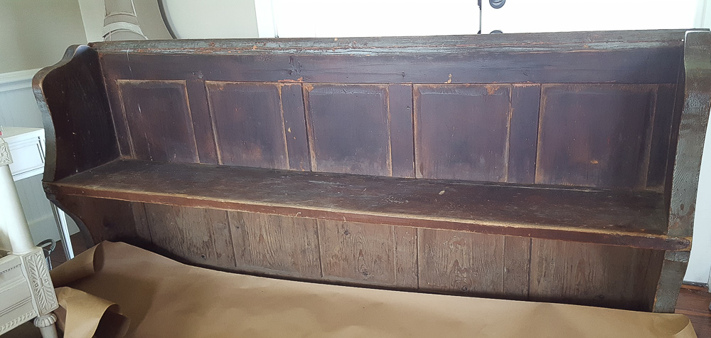antique-church-pew