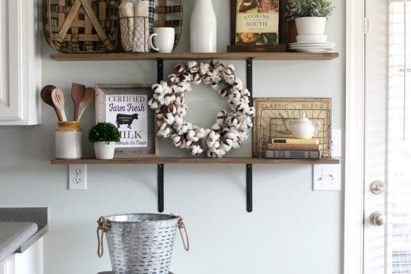 how-to-decorate-shelves-farmhouse-kitchen-2