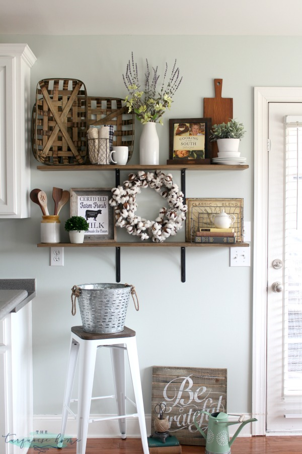 how-to-decorate-shelves-farmhouse-kitchen-2