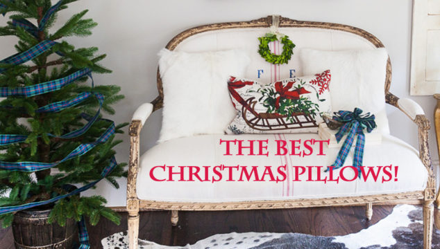 The BEST Christmas Pillows