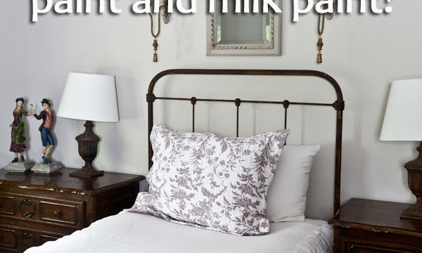 Milk Paint or Chalk Based Paint Which is Best?