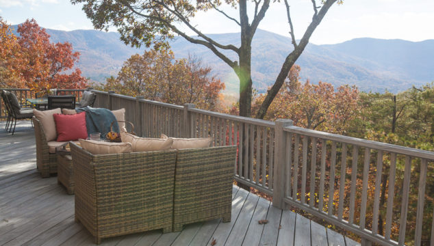 Our Mountain Deck Redo