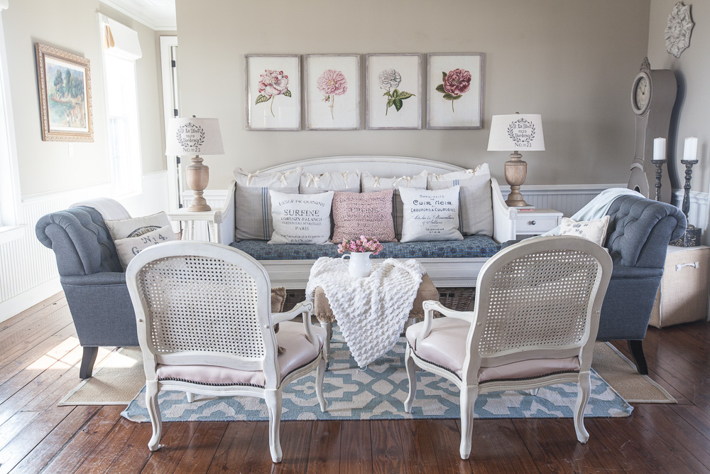 This Room Has Gone Through So Many Changes Over The Years. This Is Where  You Last Saw It. The Gray Chairs Are From BIRCH LANE. I Did A Post On Them  HERE And ...