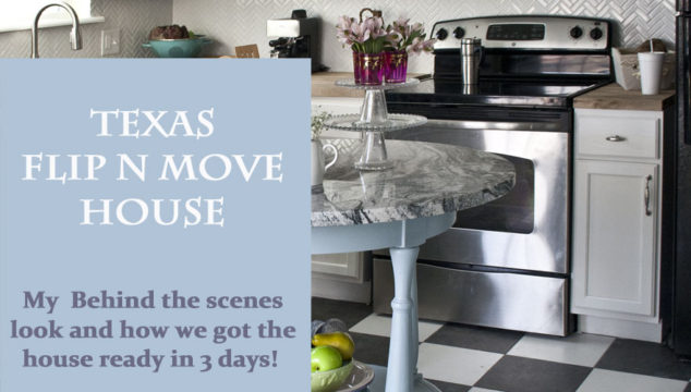 Texas Flip N Move House – Kitchen
