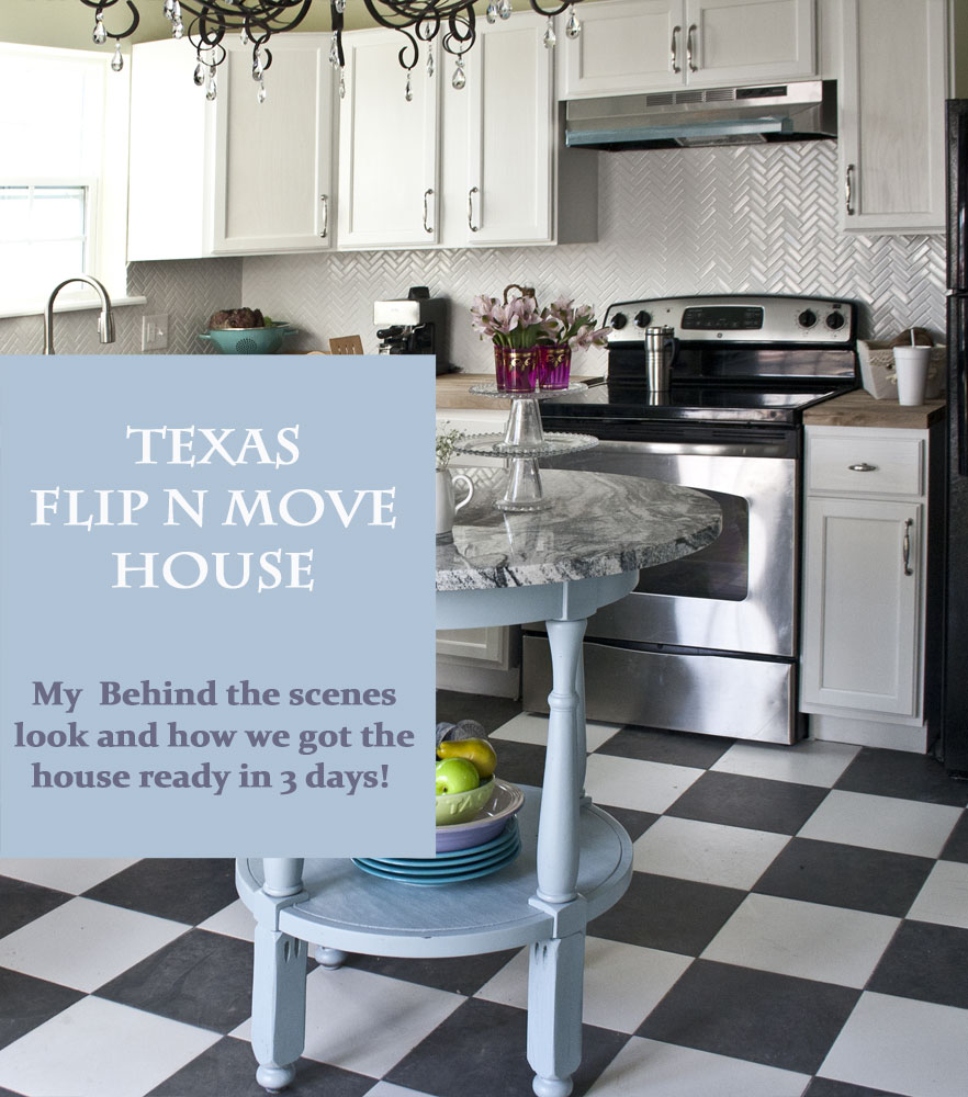 Texas Flip N Move House - Kitchen - Cedar Hill Farmhouse