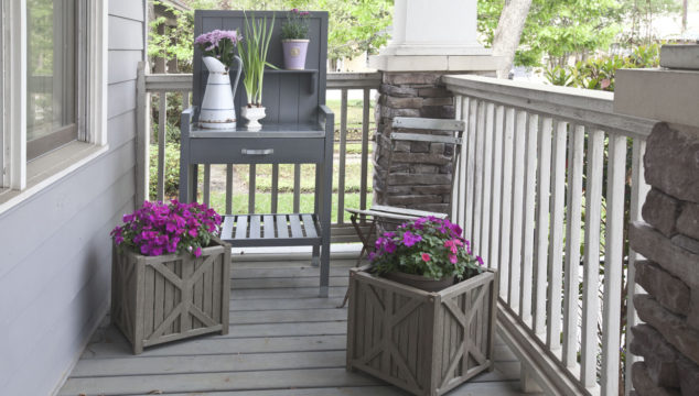Getting the Porch Ready for Spring