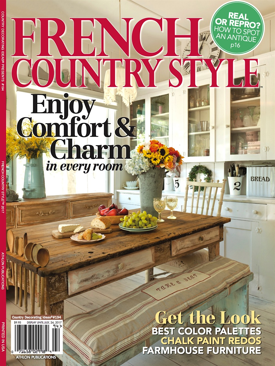 French country style magazine feature cedar hill farmhouse - What is french country style ...