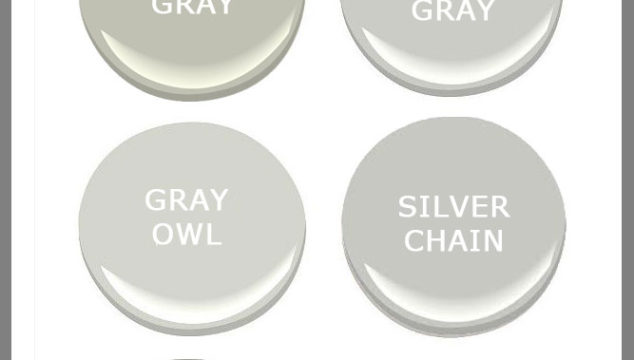 The Best Gray Paints for your home