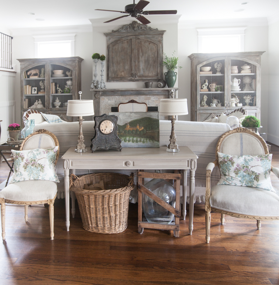 Country French living room 4 key elements of design