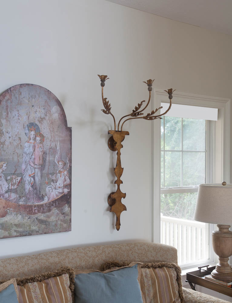mountain living room sconces