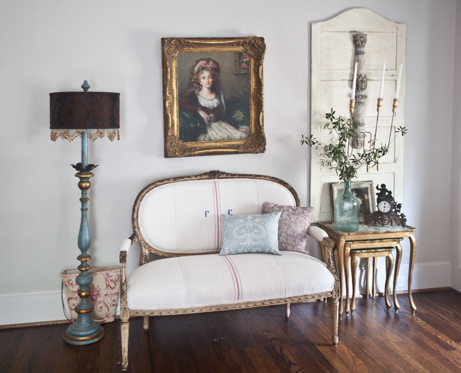 French furniture off-balance room
