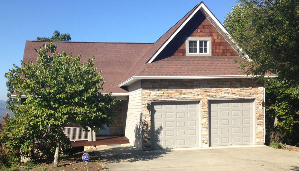 gray exterior paint front