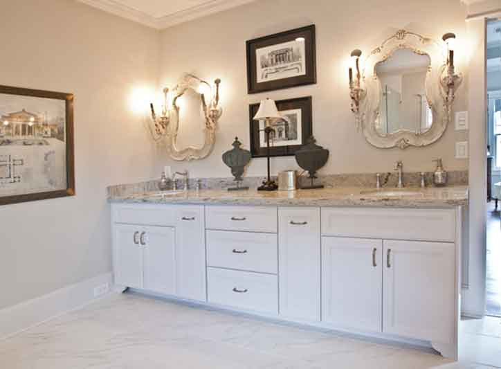 bathroom remodel inspiration vanity