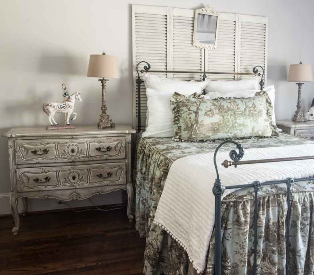 8 above bed décor ideas louvered doors