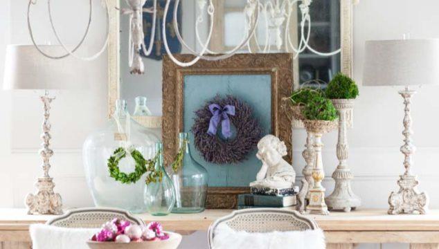 Elegant Way to Display Your Christmas Wreath