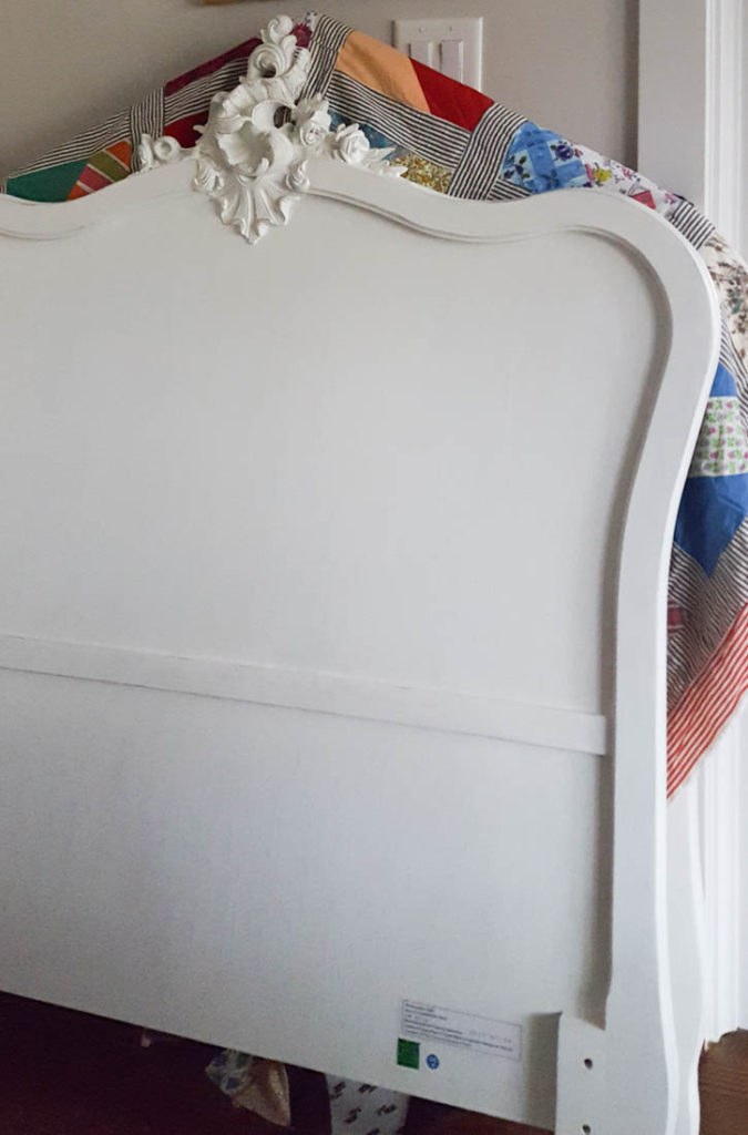French bedroom headboard