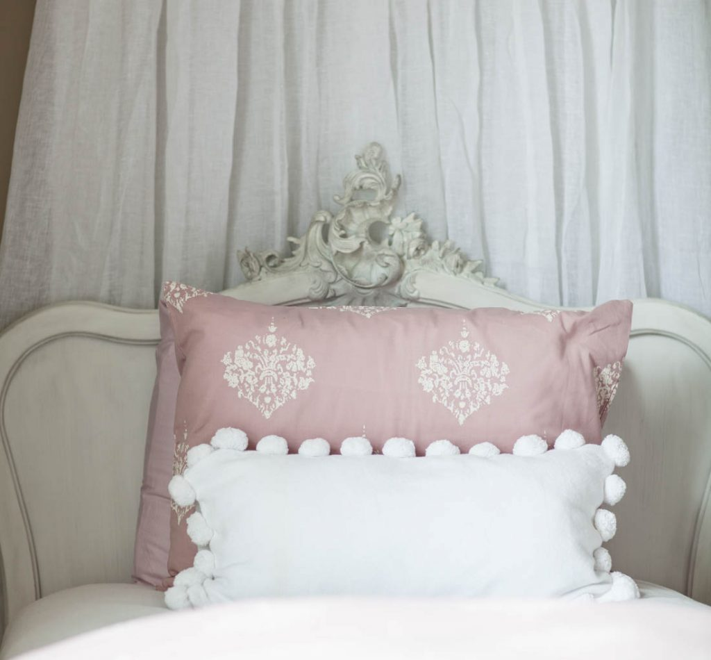 French Girls Room headboard