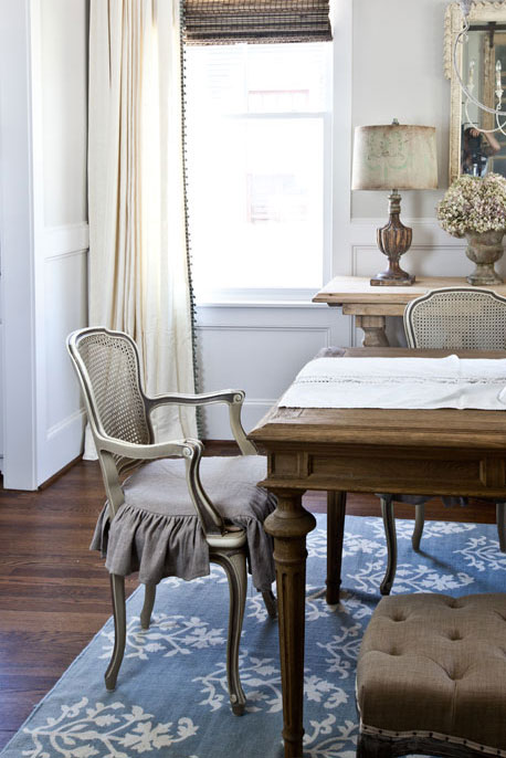 Neutral Versus Color french chair