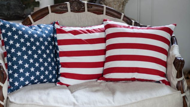 Decorating with Stars and Stripes