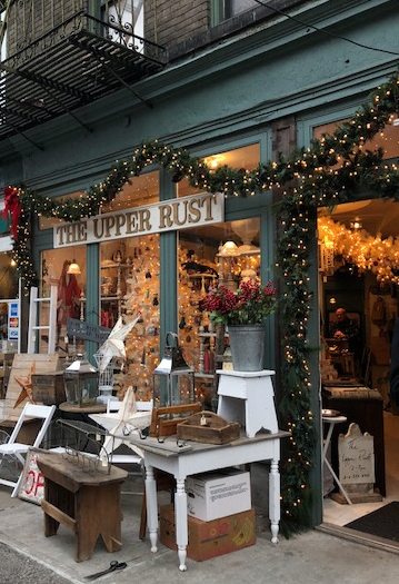 The Upper Rust in NYC